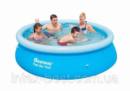 Надувной бассейн BestWay 57008 (244 x 66см), фото 2