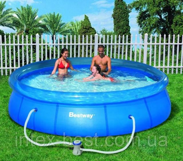 Надувной бассейн BestWay 57008 (244 x 66см)