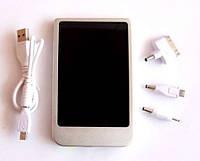 Солнечная зарядка для телефона 6000 мА/ч  solar charger for iPhone,  iPad, iPod (мобильный аккумулятор)