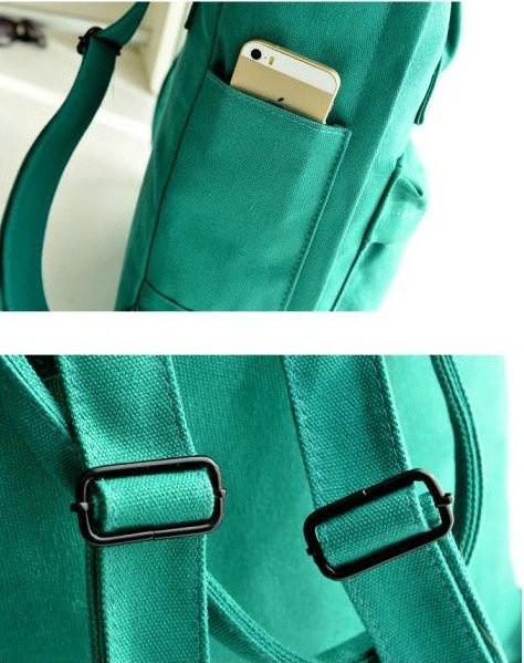 Стильная сумка-рюкзак для девушки