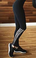 Леггинсы для фитнеса Black Elegant, фото 1