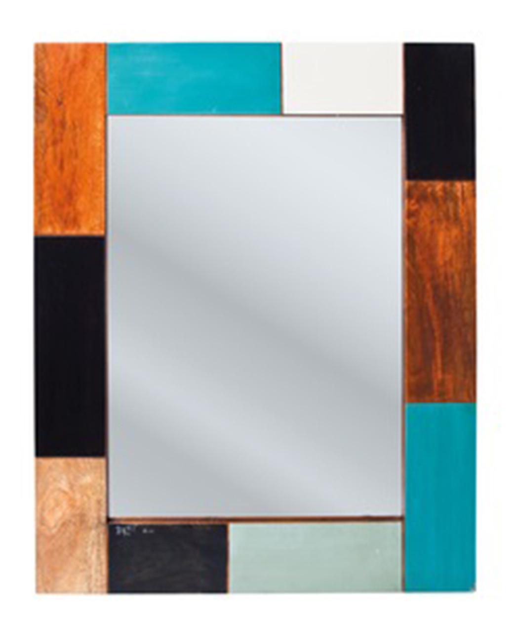 Зеркало в раме из массива дерева 009