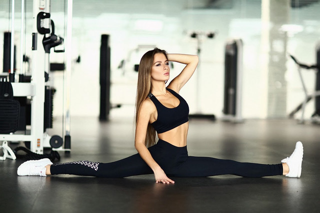 Black Elegant леггинсы для фитнеса