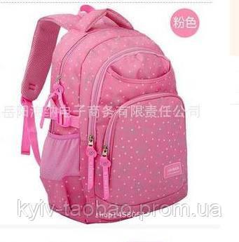 Рюкзак школьный для девочки 42*30, розовый