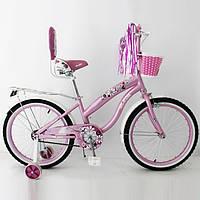 Велосипед детский 20 дюймов RUEDA 20-03B цвет розовый