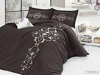 First Choice VIP Satin Комплект постельного белья CAREL евроразмер, фото 1