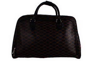 Женская дорожная сумка из кожзама
