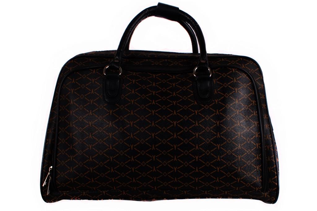 Женская дорожная сумка из кожзама 4196