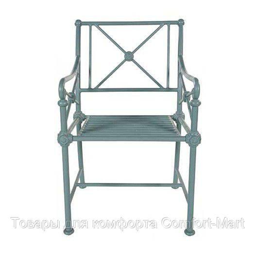 Алюминиевое обеденное кресло
