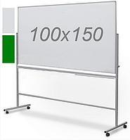 Оборотно-мобильная комбинированная доска 100х150см, фото 1