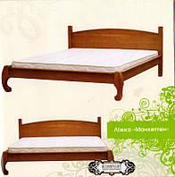 Ліжко дерев'яне Манхеттен МебіГранд / Кровать деревянная Манхэттен MebiGrand
