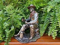 Коллекционная статуэтка Veronese Ковбой - Перерыв на кофе 76730A4