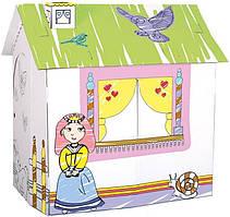 Картонный домик для принцессы Bino (44002)