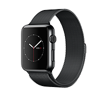 42mm Space Black Stainless Steel Case with Space Black Milanese Loop