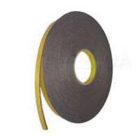 Двухсторонняя клейкая лента (скотч) 3M 9556В, 12мм x 16,4м x 3мм, из вспененного полиэтилена с акриловым адгез