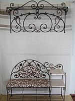 Кованый набор мебели для прихожей  -  05