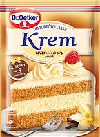 Крем для тортов Dr.Oetker c ванильным вкусом  120g