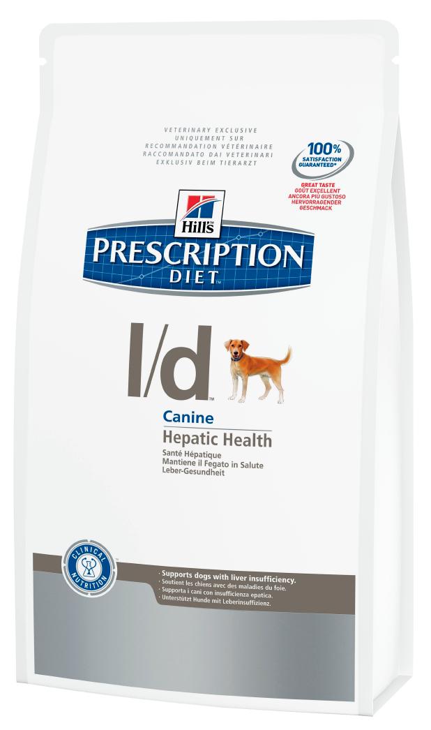 Лечебный корм для собак с проблемами печени Hills Diet L/d