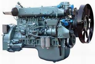 КАТАЛОГ Дизельный двигатель WD615 Евро2