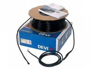 Нагревательный двухжильный кабель DEVIsafe 20T 125 Вт 140F1273