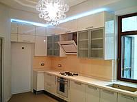 Кухня столовая МДФ глянец