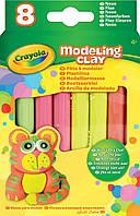 Пластилин Crayola неон 8 Neon Colours Modelling Clay