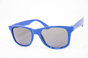 Детские очки в синей оправе