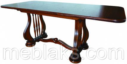 "Стол деревянный раскладной ""Лира"" 140(+50)х85х75 см Fusion Furniture, фото 3"