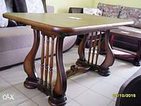 "Стол деревянный раскладной ""Лира"" 140(+50)х85х75 см"