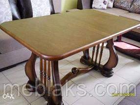 "Стол деревянный раскладной ""Лира"" 140(+50)х85х75 см Fusion Furniture, фото 2"