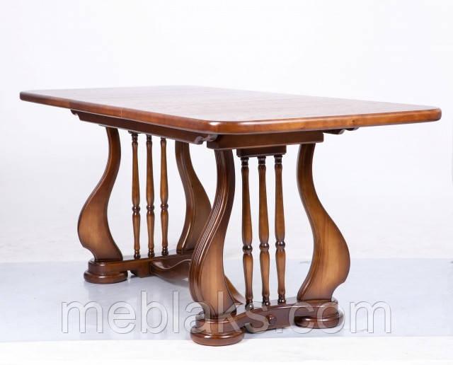 """Стол деревянный раскладной """"Лира"""" 140(+50)х85х75 см Fusion Furniture"""