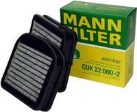 Фильтр салона угольный Mann CUK220002 для MERCEDES