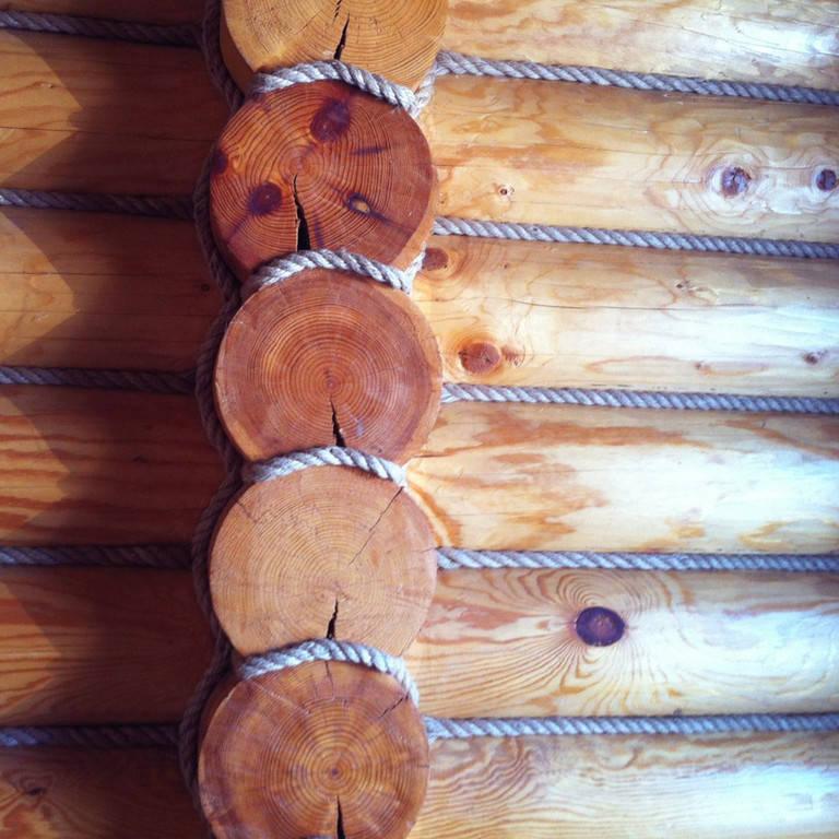 Декоративные работы по срубу