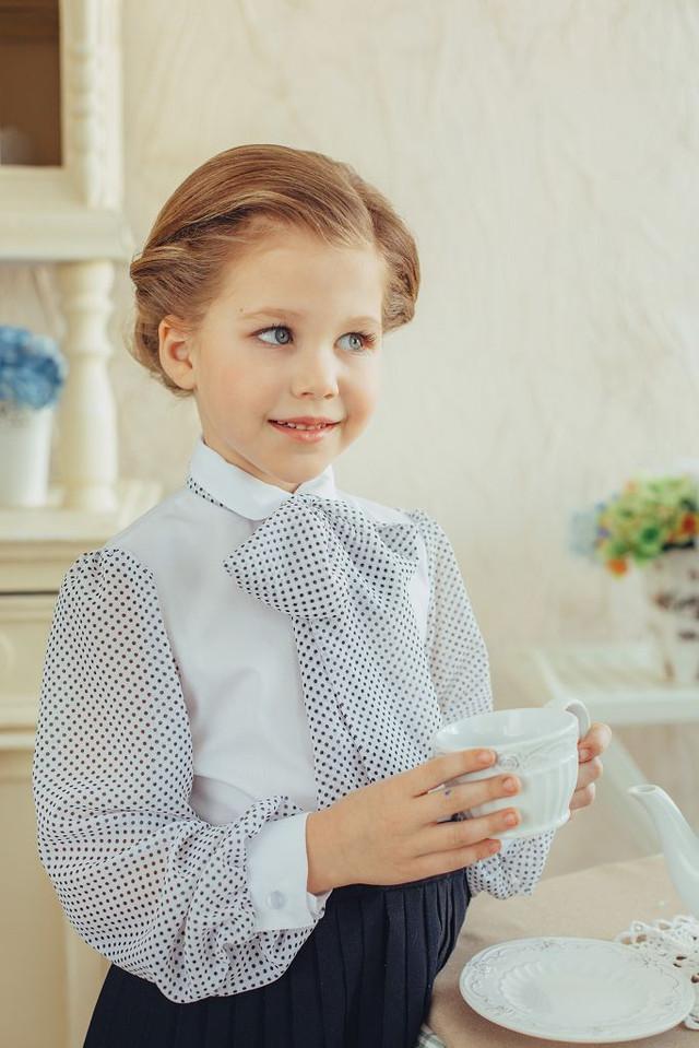 Школьные блузки для девочек оптом:компания sensorik, сотрудничество для розничных магазинов