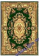 """Синтетический ковер эконом-сегмента Gold Karat """"Живой орнамент"""", цвет бежево-зеленый"""