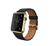 Apple iWatch 42mm 18-Karat Yellow Gold Case with Black Classic Buckle