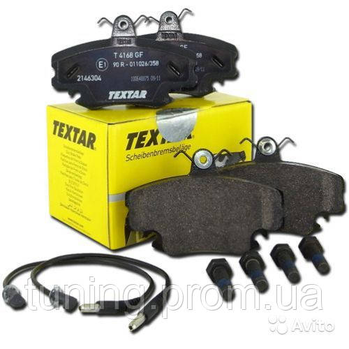 Тормозные колодки передние Textar 2146304 для RENAULT / PEUGEOT