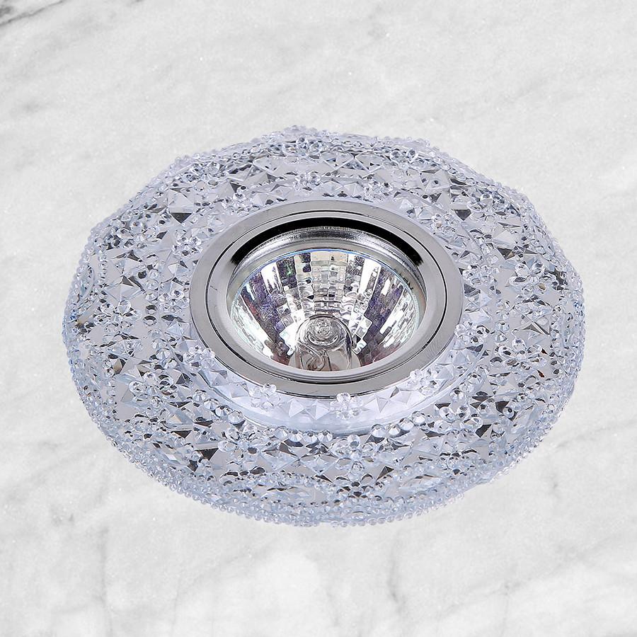 Точечный врезной светильник (16-В106)