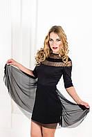 Клешное модное платье  K 20