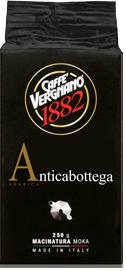 Кофе молотый Vergnano 1882 Antica Bottega 250г 100% арабика