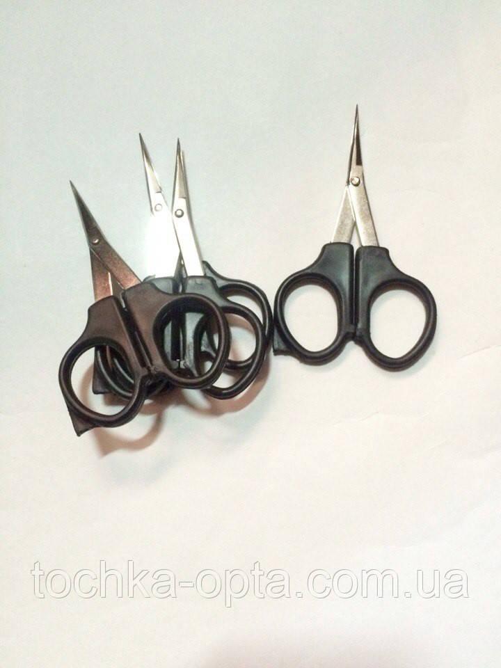 Ножницы с чёрной ручкой заточка