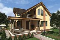 Двухэтажный дом «проект 10» 163,8 м2