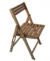 Раскладные  стулья из массива натурального дерева