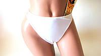 Трусики-стринги(M/L) белые эластичные Lormar Италия