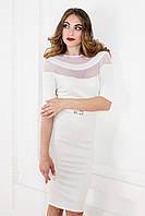 Белое нежное платье  K 20-1, фото 1