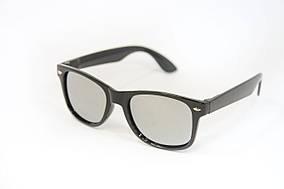 Детские очки зеркальные черные