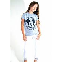 Стильная футболка с Микки Маусом