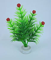 Искусственное растение для аквариума, 10 см.