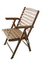 Складные кресла из натурального дерева