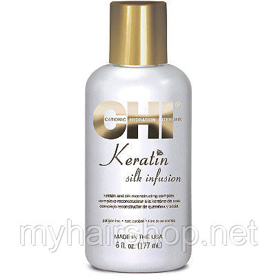 Жидкий шелк CHI Keratin Silk Infusion 177 мл